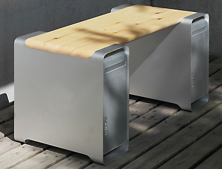 Klaus geiger benchmarc apple g5 power mac furniture