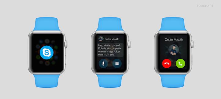 Skype on Apple Watch