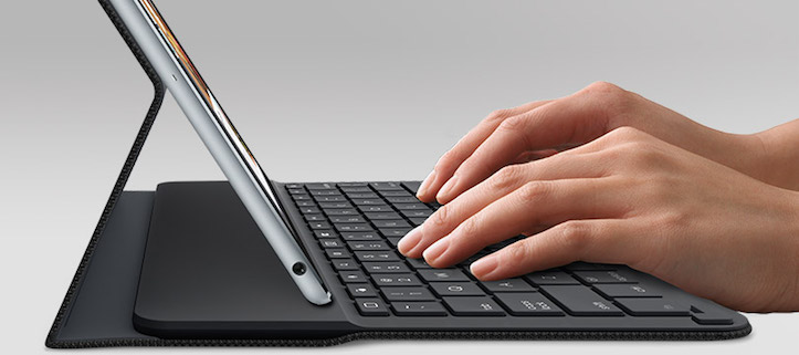 Ultrathin magnetic clip on keyboard cover for ipad