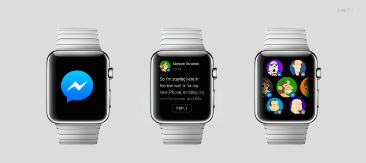 Facebook Messenger on Apple Watch