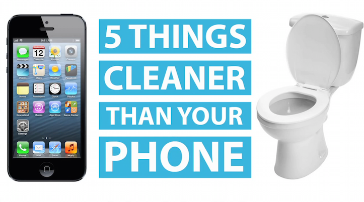 5 Places Cleaner Than iPhone