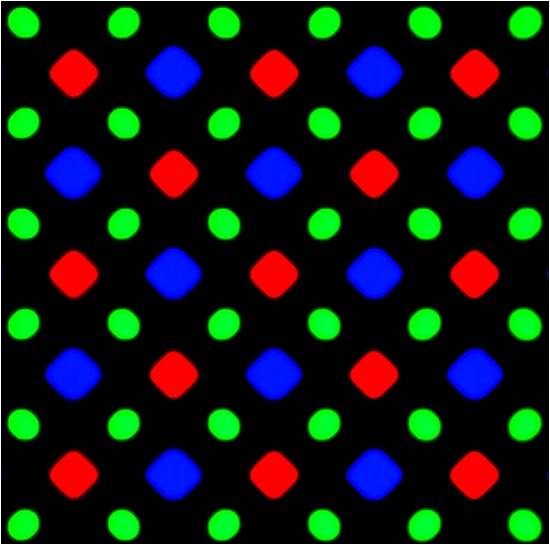 Samsung Diamond Pixels