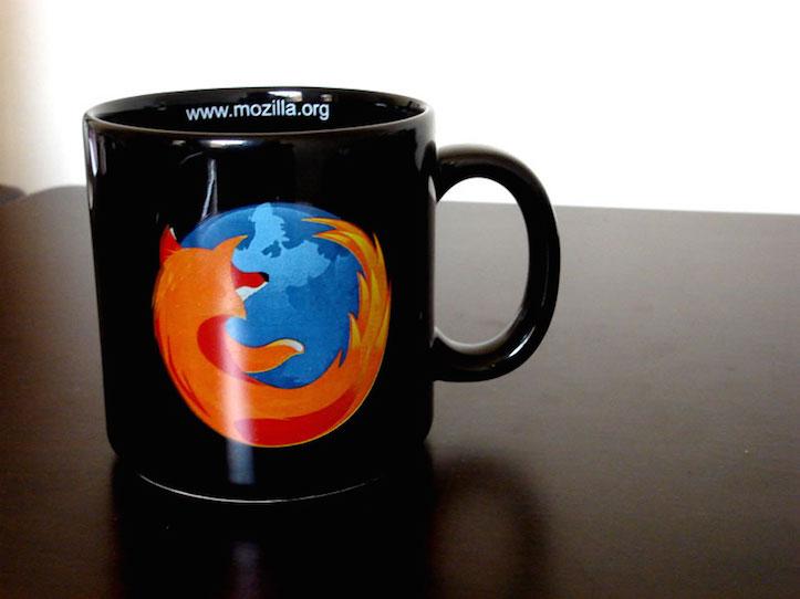 Firefox mug cup