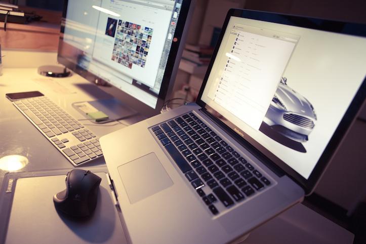 Macbook workspace