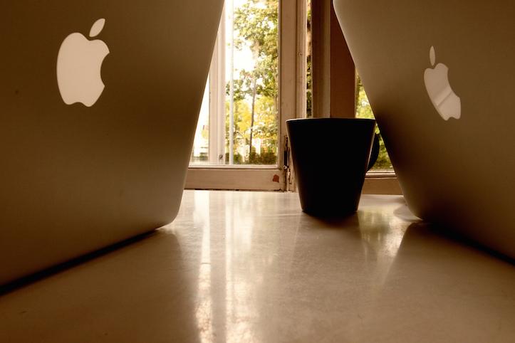 Macbooks at work