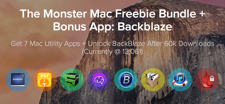 Monster mac freebie bundle