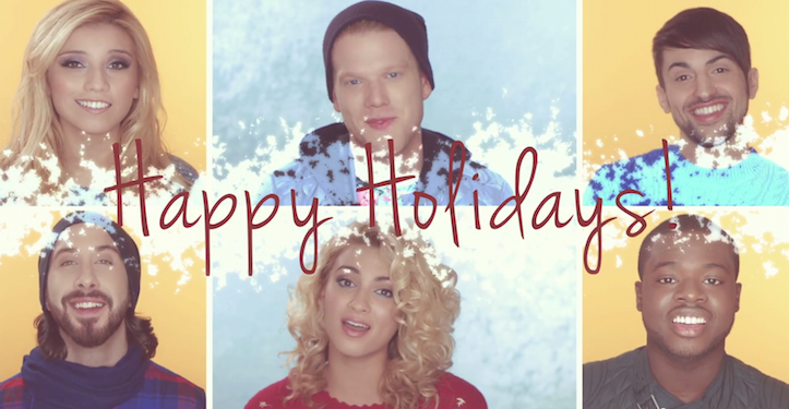 Pentatonix winter wonderland be happy