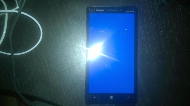 Windows phone bluescreen