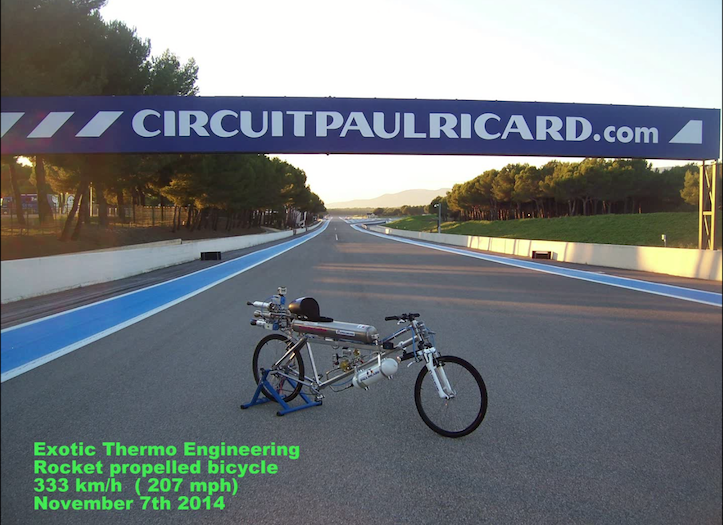 Worlds fastest bike beating ferrari