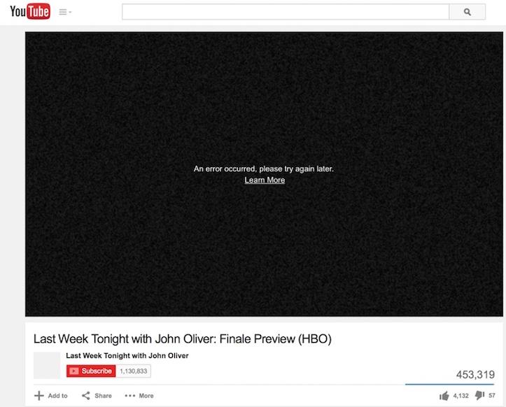 Youtube on safari not working