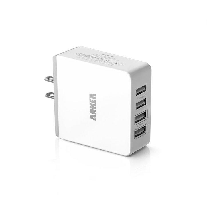 Anker 36W 4ポート USB急速充電器