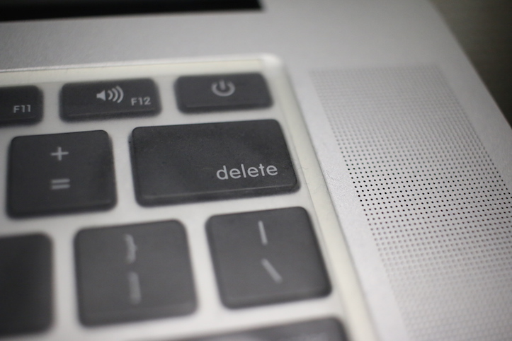 Delete key mac