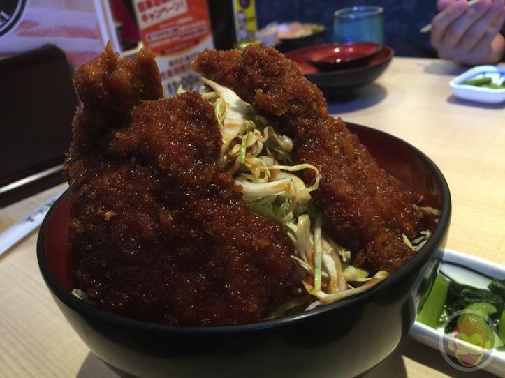 明治亭(軽井沢店)のカツ丼