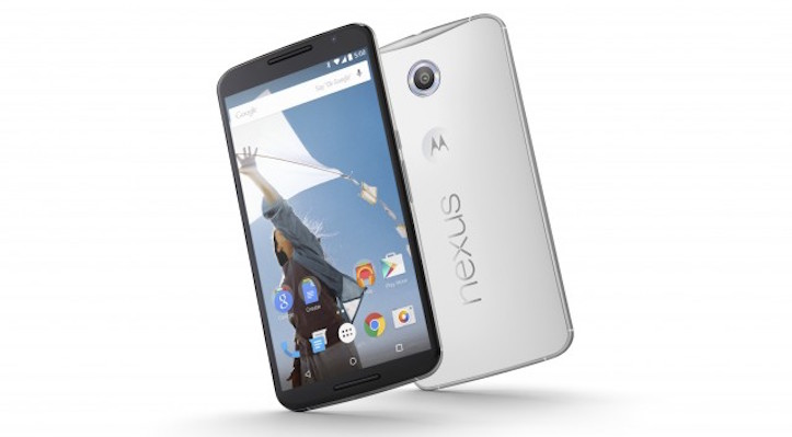 Nexus 6 cloud white
