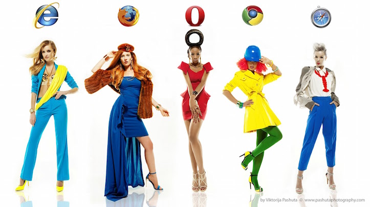 if internet browsers were women