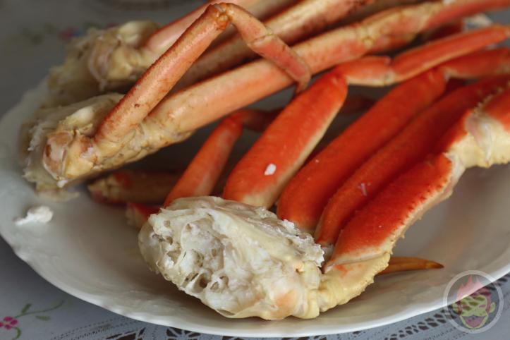 2015年のおせち、蟹、お雑煮とあんころ餅