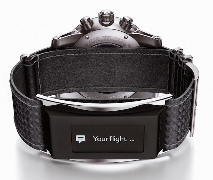 Montblanc Timewalker urban speed e strap watch