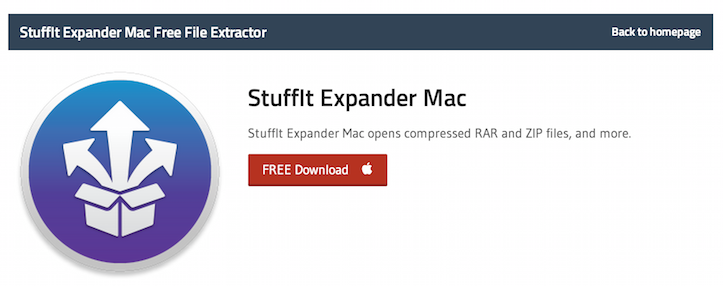 StuffIt Expander Mac