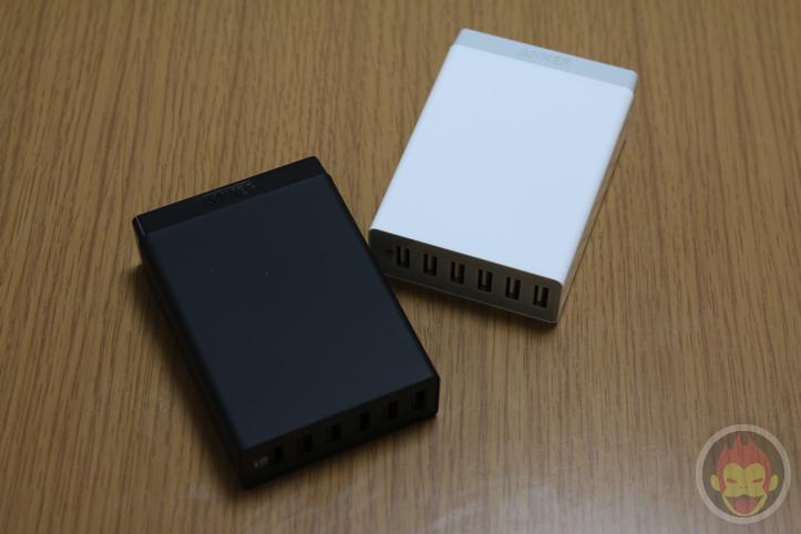 Anker 60W 6ポート USB急速充電器