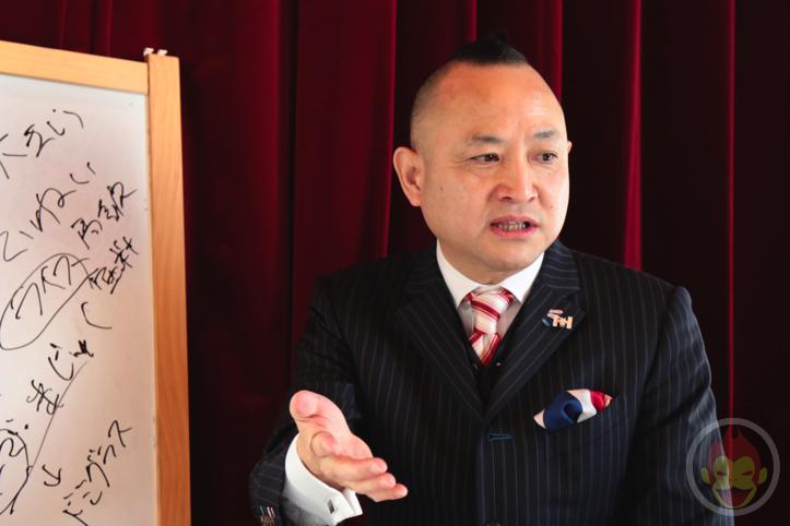 モヒカン社長こと生駒俊介さんの「魔法の接客術」セミナー