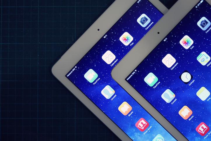 iPad air comparison