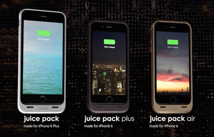 Mophie juice pack iphone6 6plus all