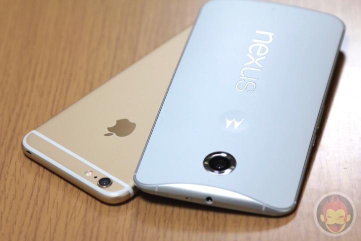Nexus 6 iphone 6 plus comparison