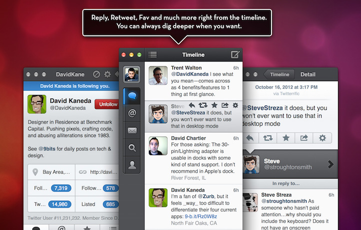 Tweetbot for mac by tapbots