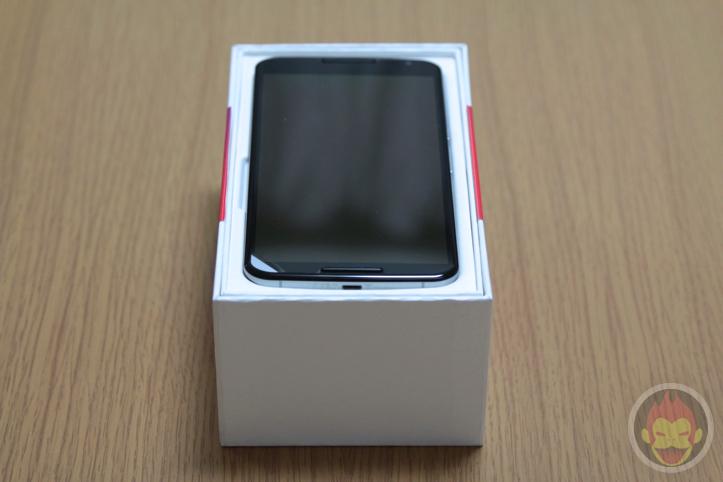 Y!mobile Nexus 6 クラウドホワイト