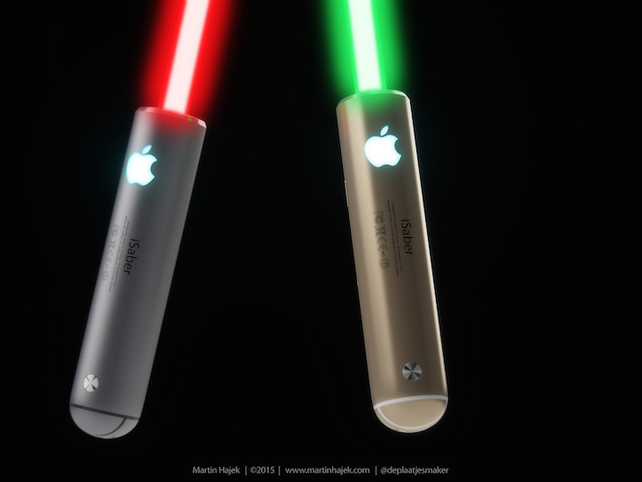 Jony Ive Light Saber Concept Image