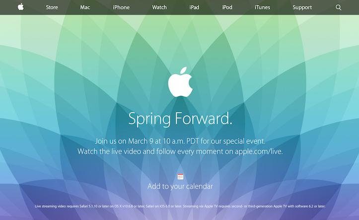 Spring Forward Live