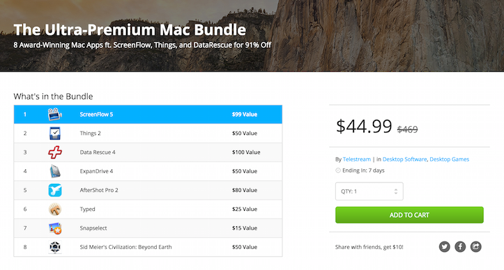 Ultra Premium Mac Bundle