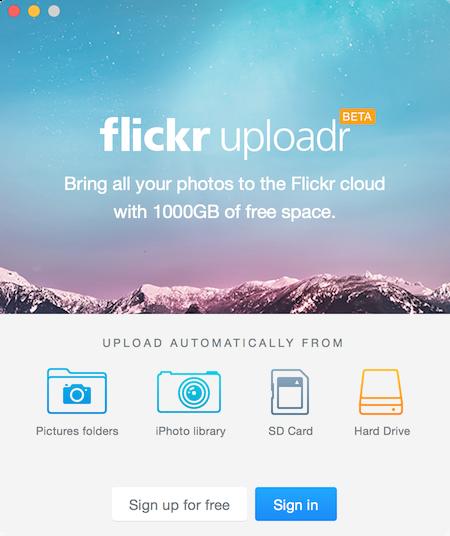 Flickr uploader for mac