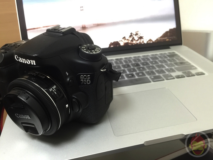 Macbook pro retina 15 and canon eos 70d