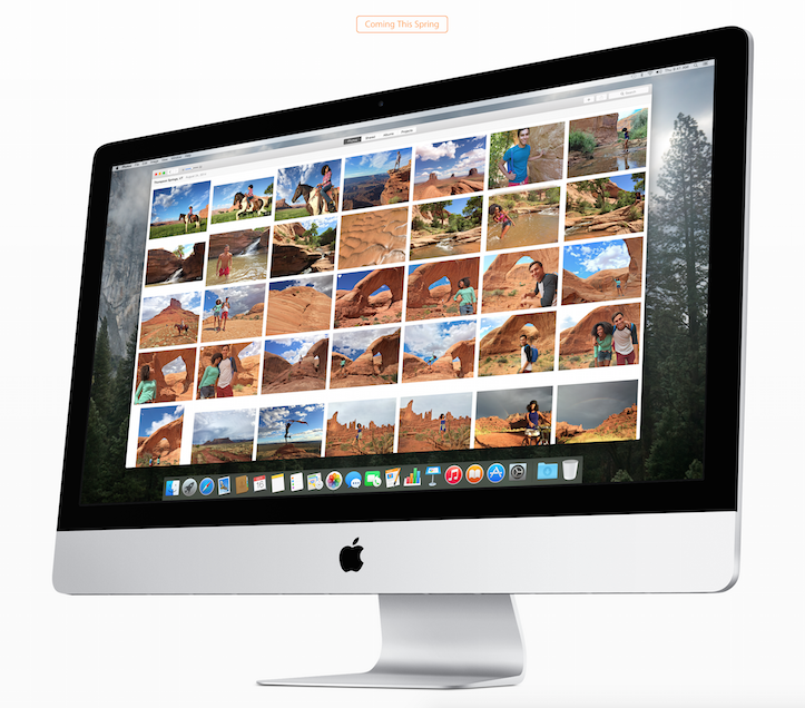 Photos app for mac