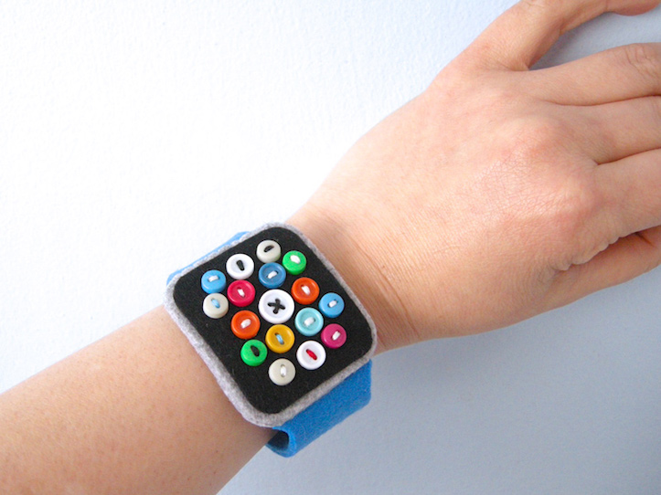 Felt Apple Watch