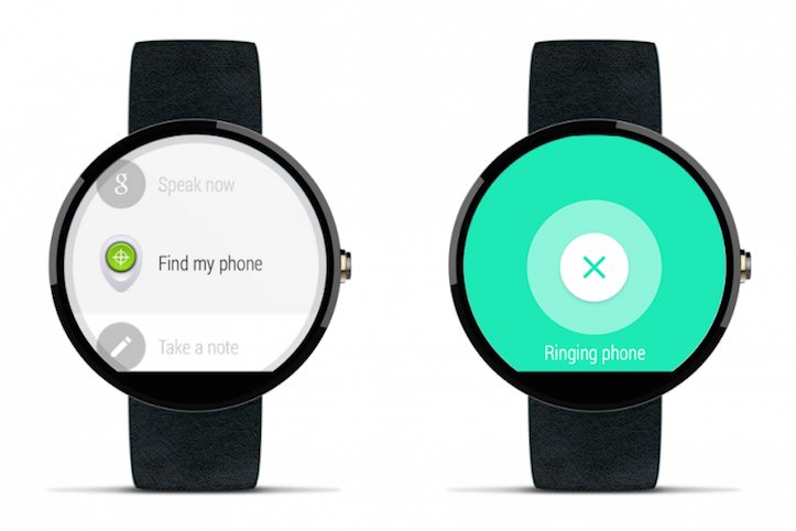 Find your phone with Android Wear 730x487