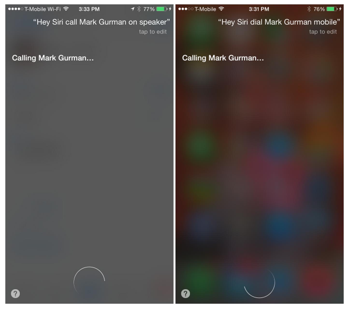 Hey Siri Auto Speaker Phone 2