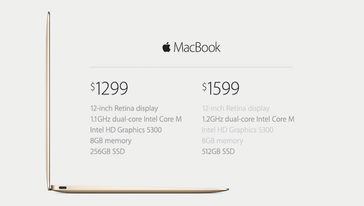 MacBook 12inch Retina