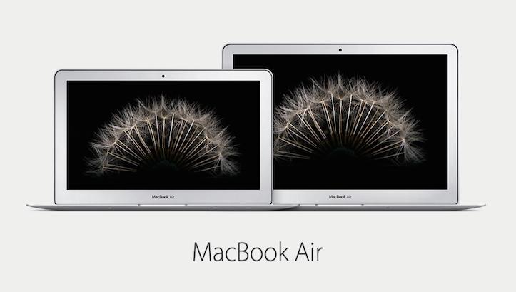 MacBook Air 11インチ・13インチの新モデル