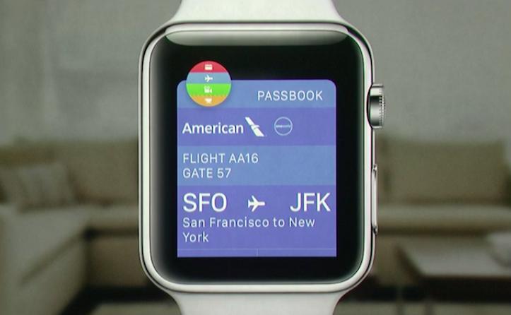 PassBook Apple Watch