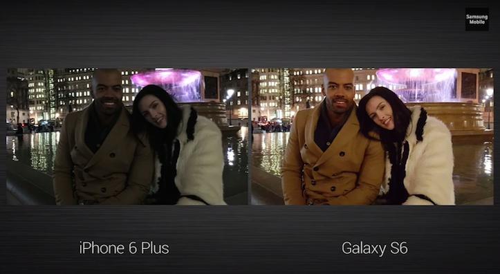 iPhone 6とGalaxy S6のカメラ性能の違い