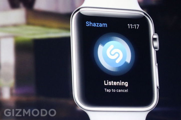 Shazam Apple Watch