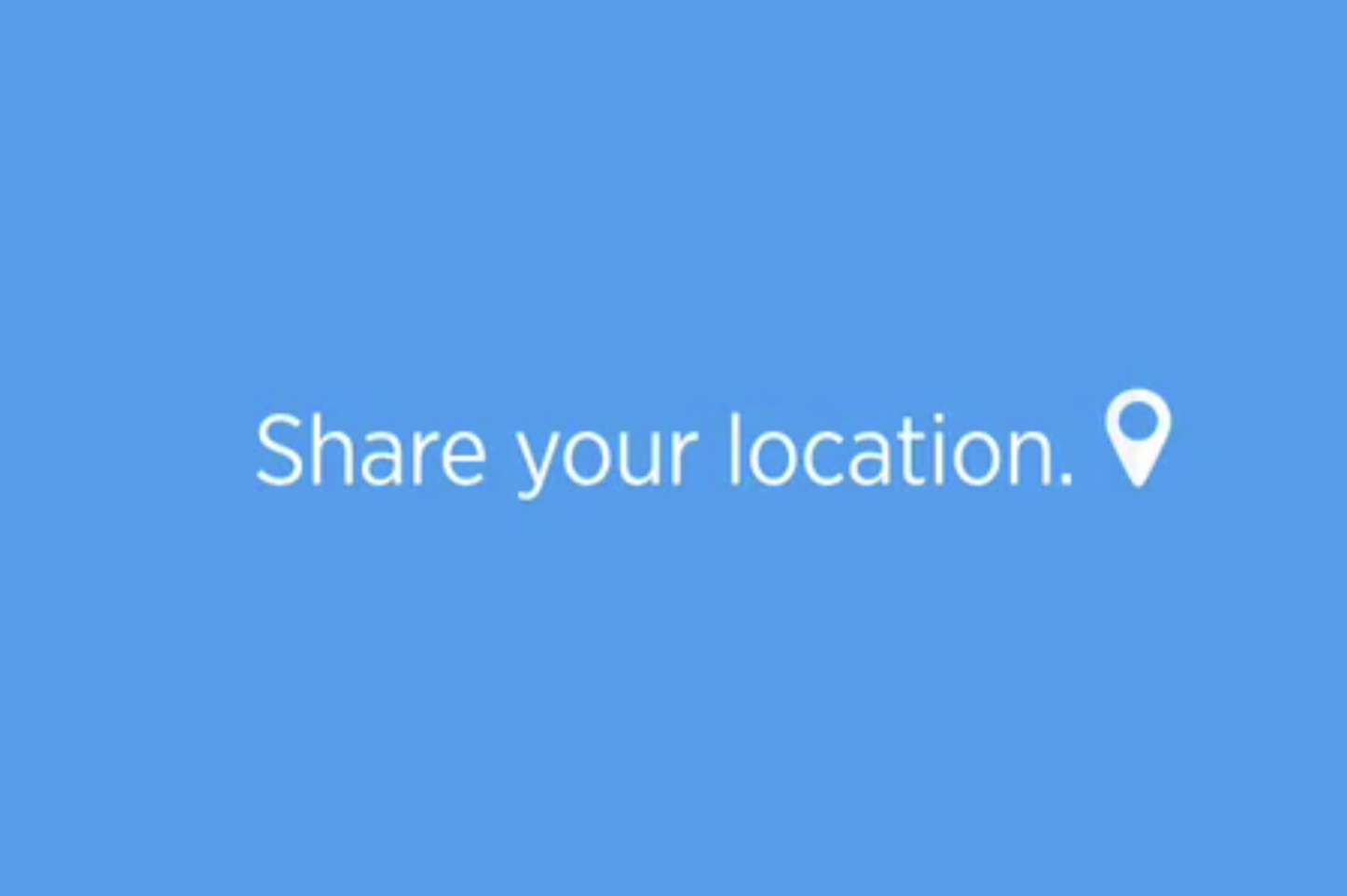 Twitter Share Your Location
