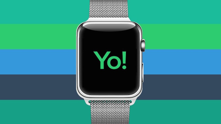 Yo App on Apple Watch