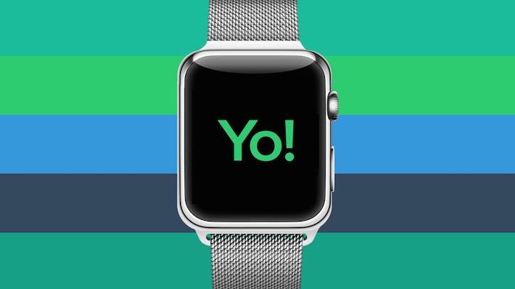 Yo App on Apple Watch