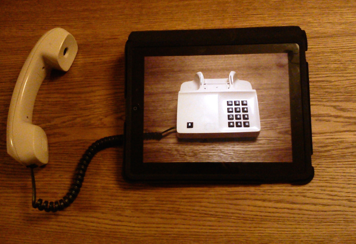 iPad telephone