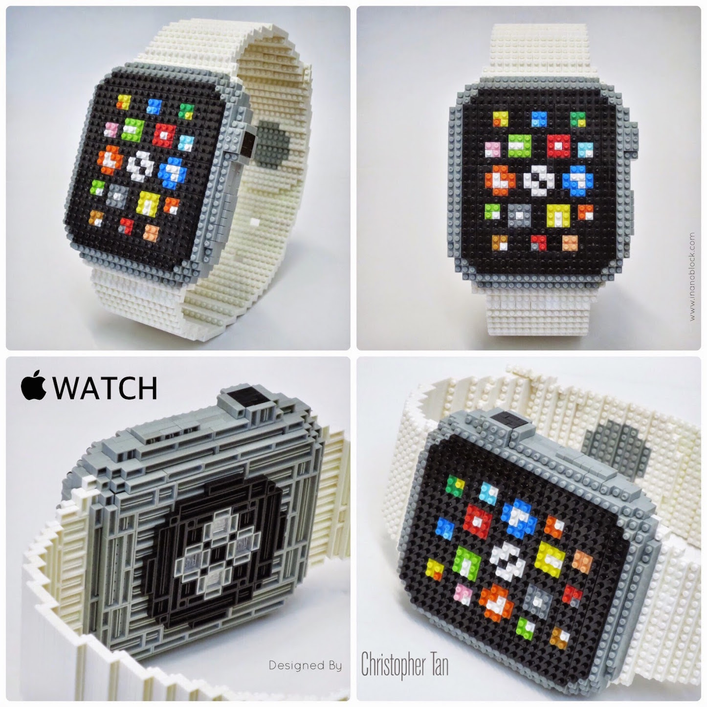 Nanoblock Apple Watch