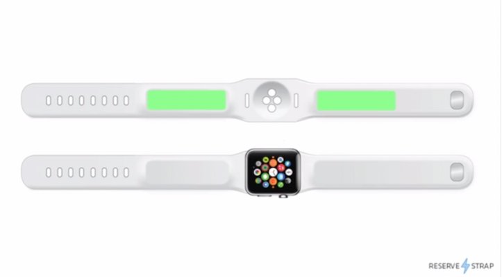 Reserve strap for Apple Watch