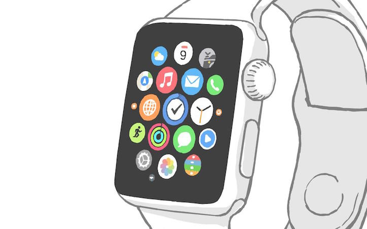 Things app for apple watch